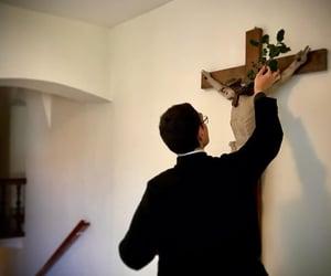 Catholic, catholicism, and crucifix image