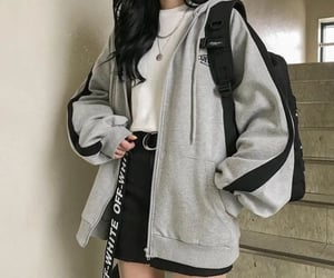 black, casual, and feed image