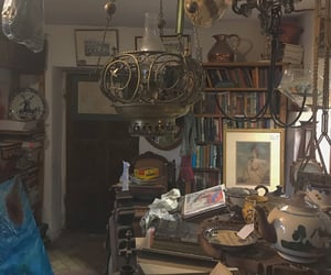aesthetic, books, and clutter image