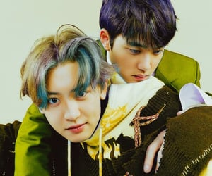 best couple, kyungsoo, and chansoo image