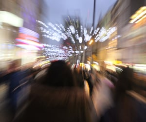 light, grunge, and city image