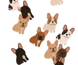 art, background, and dog image