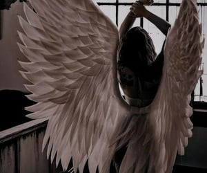 aesthetic, angel, and myths image