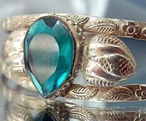 etsy, tear drop, and cuff bracelet image