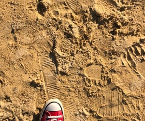 beach, converse, and diary image