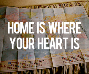 heart, home, and map image