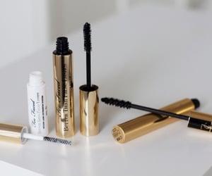 mascara, makeup, and beauty image