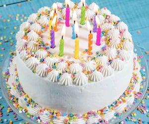 b-day, birthday, and cake image
