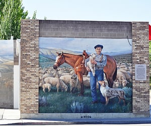 ely, Nevada, and mural image
