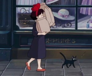 90s, anime, and kikis delivery service image