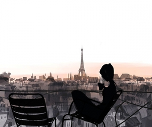 paris and coffee image
