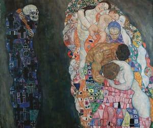 Art Nouveau, modern art, and Gustav Klimt image
