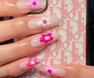 nails, aesthetic, and dior image