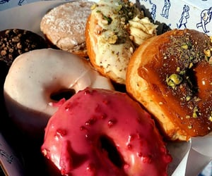 donuts, sweet, and yummy image