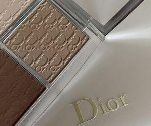 beauty, dior, and make up image