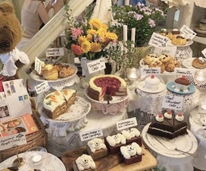 aesthetic, cakes, and food image