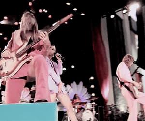 bass, gif, and pink image