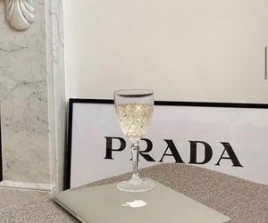 Prada, apple, and aesthetic image