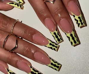 french, nail art, and manucure image