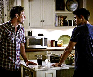 gif, the vampire diaries, and steven mcqueen image