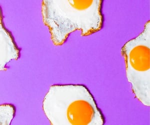 egg, pattern, and purple image
