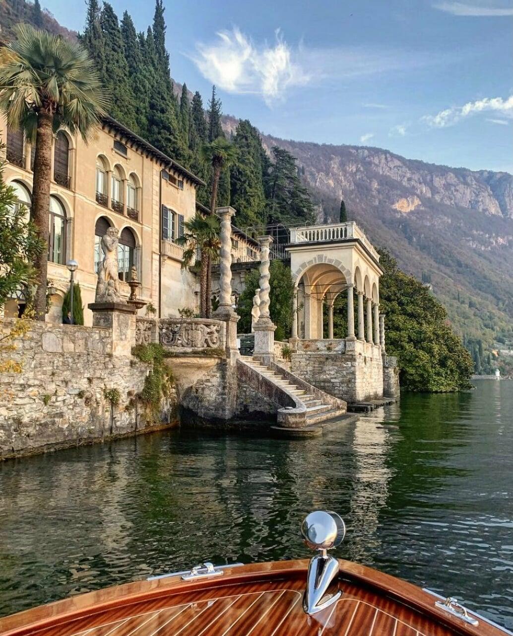 lake, travel, and view image