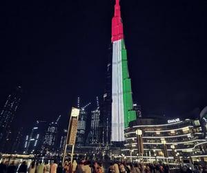 downtown, Dubai, and travel image