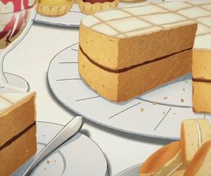anime, food, and anime food image