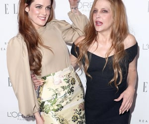 aesthetic, riley keough, and lisa marie presley image