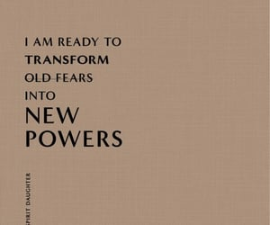 affirmation, empowerment, and fearless image
