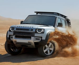 land rover, land rover defender, and land rover engines image