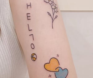 aesthetic, tattoo, and tattoo ideas image