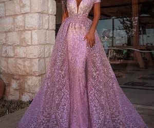 pink prom dress, prom dresses 2022, and robe de soirée image