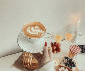 aesthetic, coffe, and coffee image
