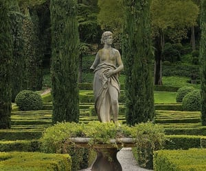 aesthetic, nature, and sculpture image