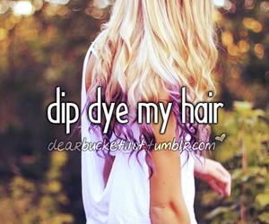 dip dye image