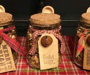 etsy, winter woods, and potpourri jar image