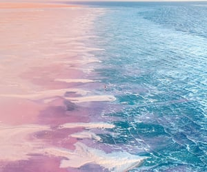 aesthetics, blue, and ocean image