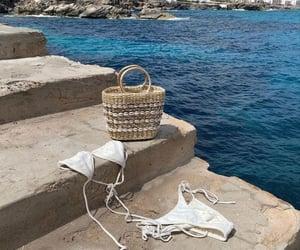 bikini, sea, and summer image