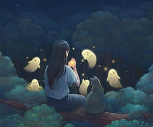 digital art and night image