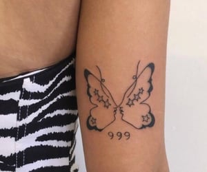 tattoo, alternative, and butterfly image
