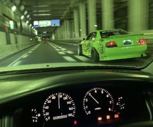 car, jzx100, and drift image