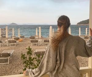 aesthetic, beach, and girl image