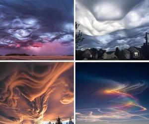 arcoiris, cielo, and rainbow image