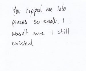 quotes, sad, and pieces image
