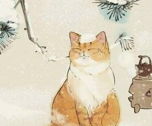 Animales, dibujos, and Gatos image
