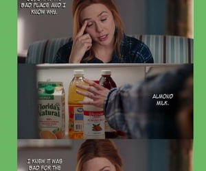 almond milk, modern family, and bad place image