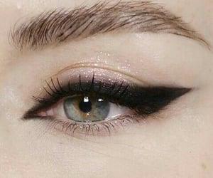 makeup, eye, and eyeliner image