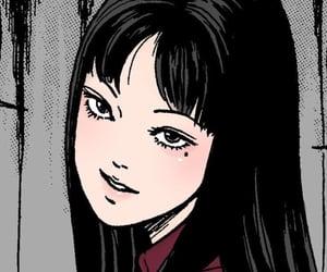 tomie, manga, and junji ito image