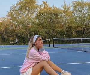 athlete, sweater, and court image